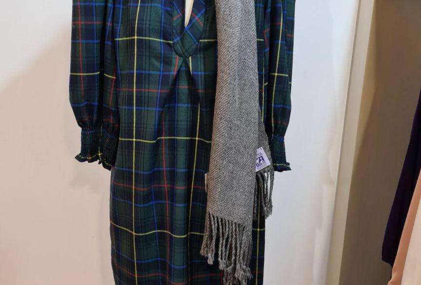 Vestido Lola cuadro escocés