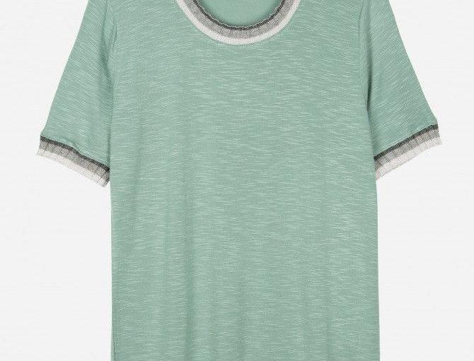 T-shirt cuello redondo