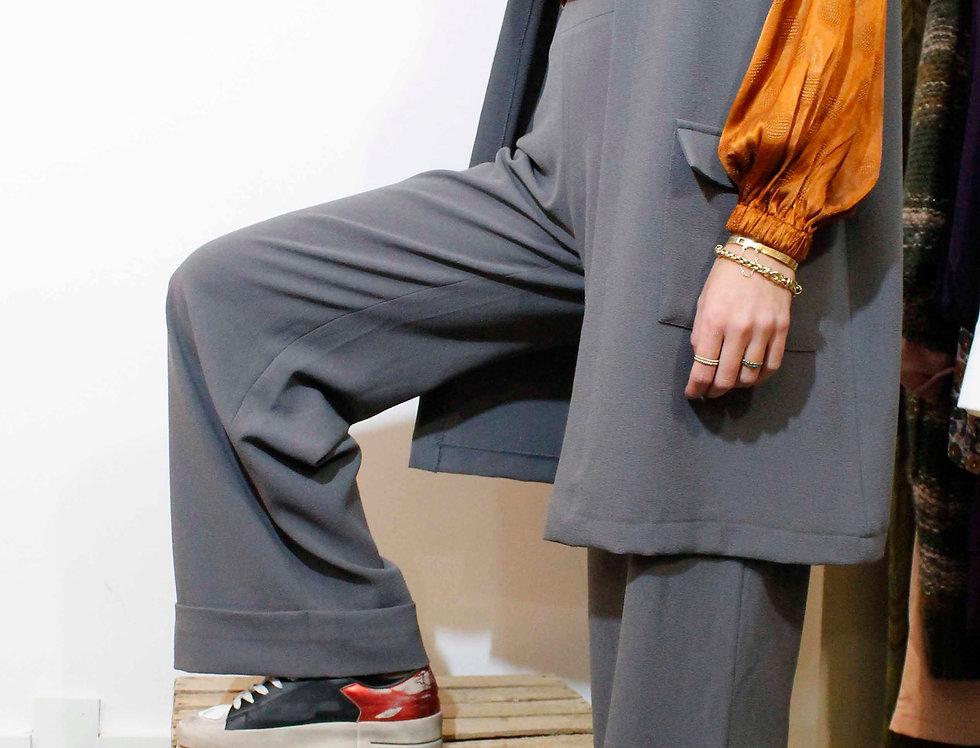 Pantalón recto MALACA crepe