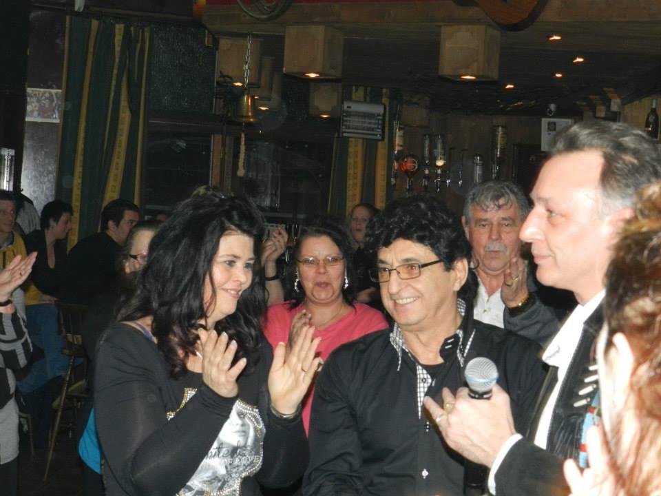 Optreden Hill West bij Cd-presentatie Domenico D'Avanzo (6)