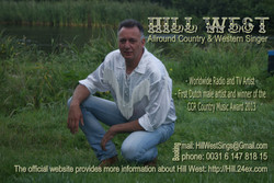 business card  2015 Hill West Country Singer