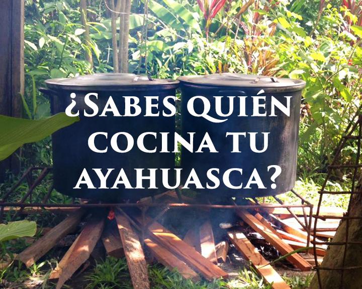 ¿Quién Cocina Tu Ayahuasca?