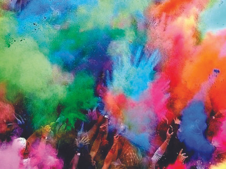 COLOR WARS - No School  - February 17th         9am-3pm! One Day Camp