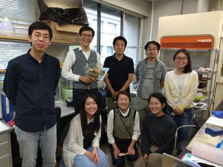 池松さんが名古屋大学ITBMに異動しました