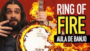 Ring of Fire - Aula de Banjo