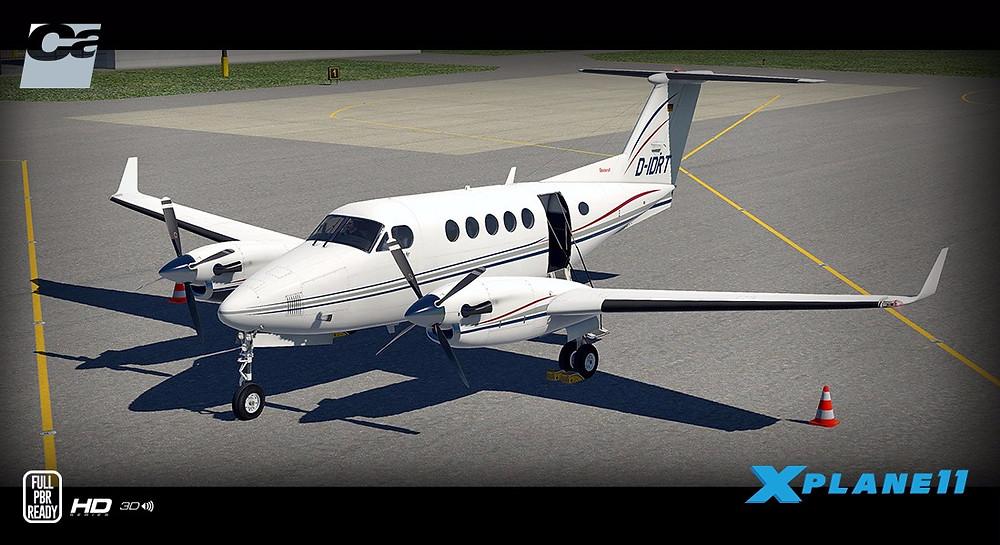Carenado B200 King Air HD Series