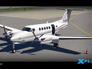 Nova aeronave no Angar do canal FSXOnline