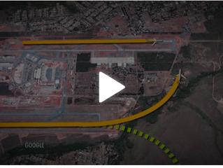 FAB suspende decolagens simultâneas no Aeroporto de Brasília