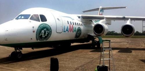 Avião que transportou os passageiros