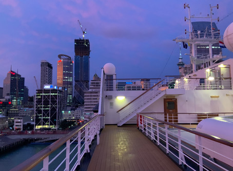 Performance Shock, Coronavirus and the South Pacific on Holland America's Grand World Voyage