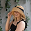 Thumbnail: Premium Foldable Fisherman Hat with Bow- Natural