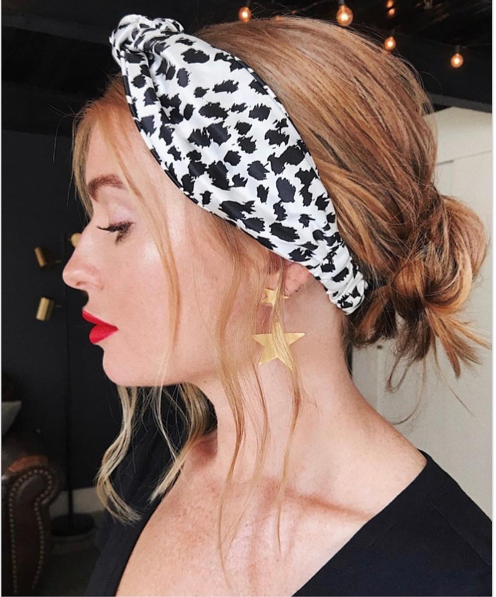Twisted Suede Elastic Headband