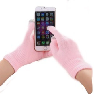Touchscreen Gloves-pink