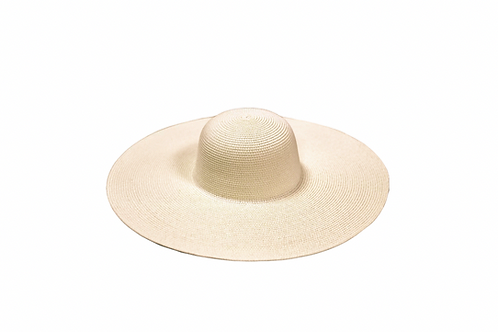 Kentucky Ultra Wide Brim Floppy Hat- Natural Straw