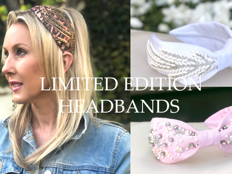 NEW LAUNCH: Tania Hird Designed Embellished Headbands!✨