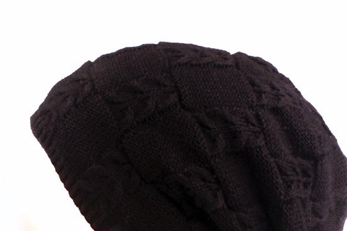 Beanies - Men Woolblend - Black