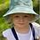 Thumbnail: Bucket Hat - reversible- Green daisy/Green