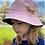 Thumbnail: Bucket Hat - reversible- Pink/White