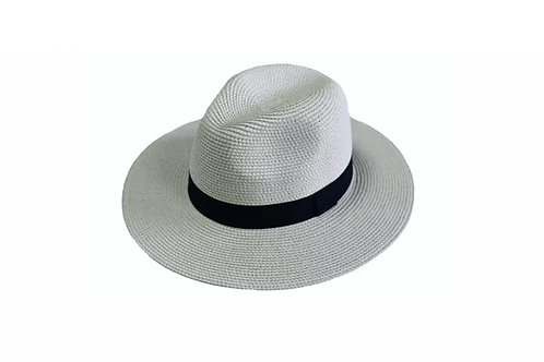 Panama Foldable Hat Unisex M -Off white