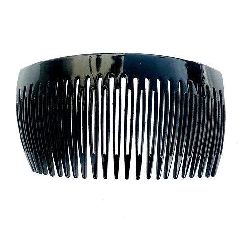 Acetate Extralarge Black Haircomb - 23XL