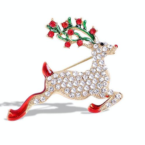 Brooch- Reindeer