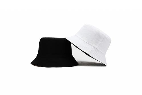 Bucket Hat - reversible- Black/White