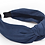Thumbnail: Knotted Suede Headband-Navy