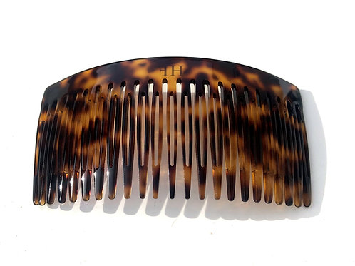 Acetate Extralarge Dark Tortoise Haircomb - 23XL