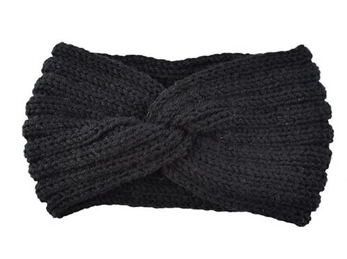 Knitknot Headband - Black