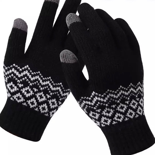 Touchscreen Gloves- SwissBlack