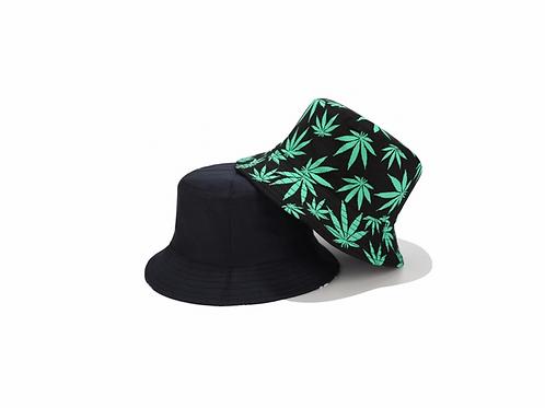 Bucket Hat - reversible- Greenleaf/Black