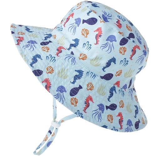 Seahorse Bucket Wide Brim  Toggle -age 2-6
