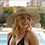 Thumbnail: 100% Seagrass Boater Wide Fringe brim with Optional Grossgrain Ribbon