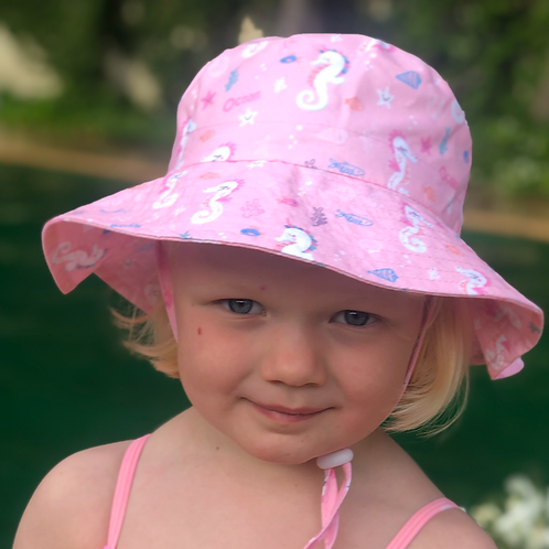 Unicorn Bucket Wide Brim-  Toggle -age 3-6
