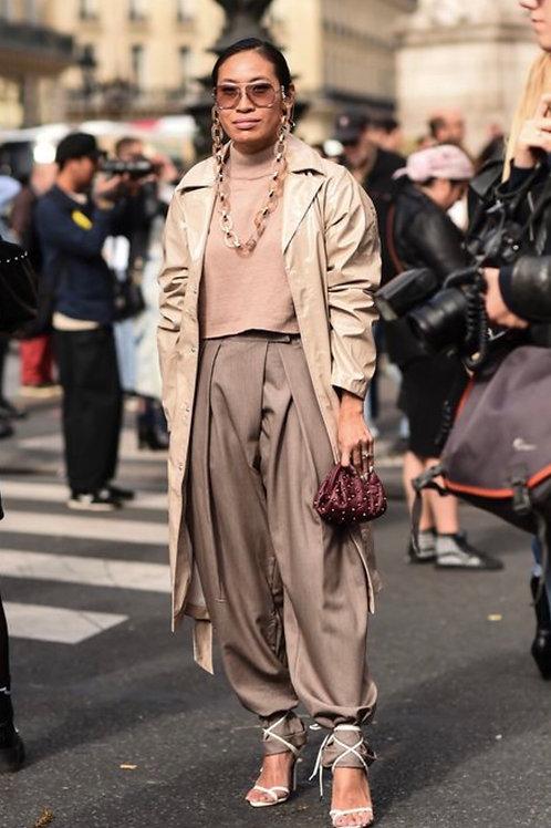 Sunglasses Chain Gucci Style - White/Brown