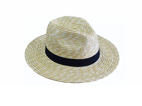 100% Wheat Straw UNISEX Panama Large - 7cm Brim