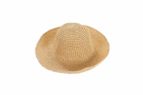 Woven Sunhat - Natural Straw/Beige