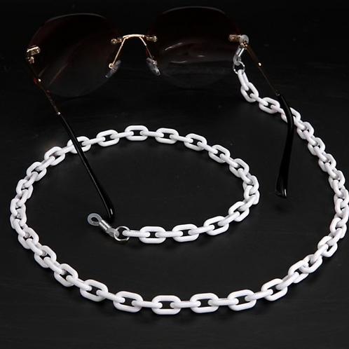 Sunglass Chain - White