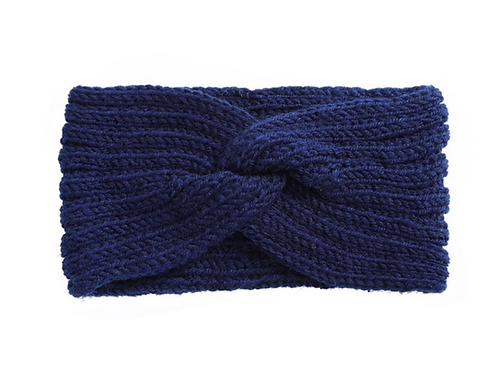 Knitknot Headband - Navy