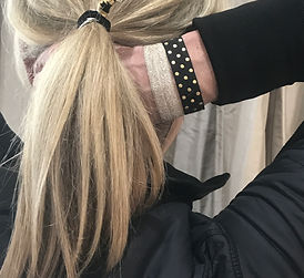 Foil and pattern hair ties