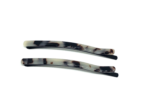 Acetate Hairpins Light Turtle - 2pce