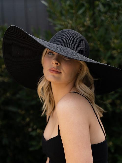 Kentucky UltraWide Brim Hat - Black