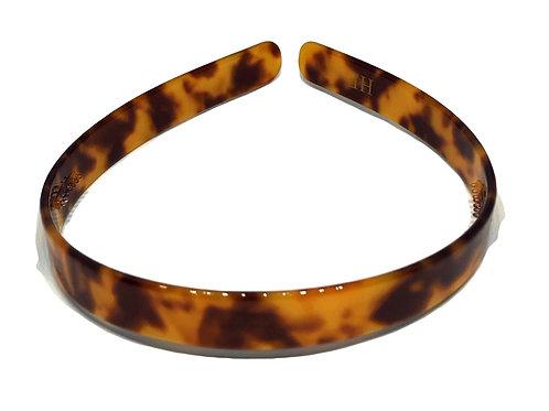 Premium Acetate Headband -Classic Brown Tortoise