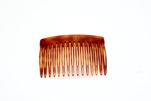 Acetate hair comb in Classic Brown