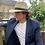 Thumbnail: Panama Foldable Hat Unisex L - Off white