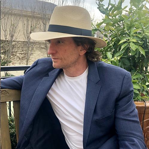 Panama Foldable Hat Unisex L - Off white