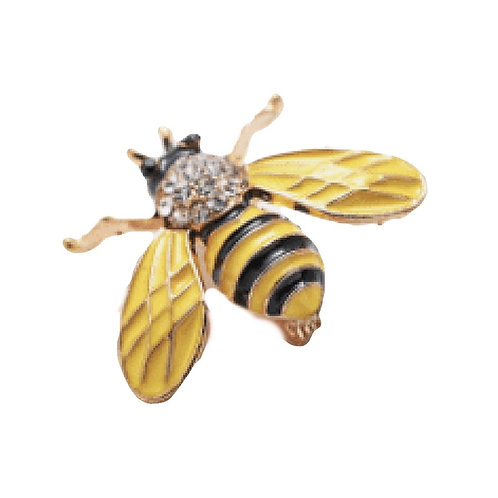 Brooch - Enamel Bee