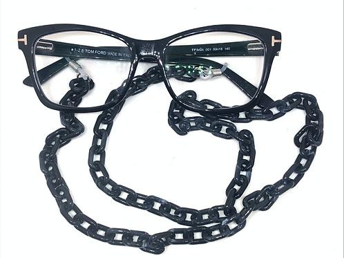 Sunglass Chain - Black & SIlver