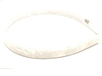 Premium Acetate Headband - 1.5cm - white Pearl