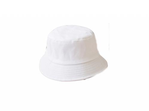 Bucket Hat -  Plain White